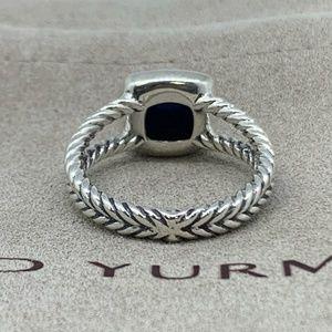 David Yurman Jewelry - David Yurman Petite Albion Ring Lapis & Diamonds